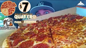 little caesars quattro pizza review