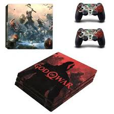 Kratos God Of War 4 Vinyl Skin Decals Stickers For Ps4 Pro Consoles Co Amcoser