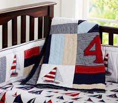 nautical crib bedding from pottery barn