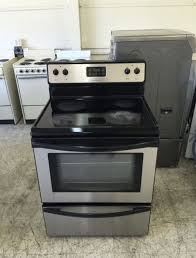 frigidaire glass top electric stove for