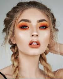awesome orange makeup inspiration