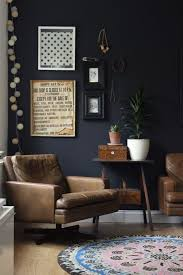 black accent wall ideas to make a bold