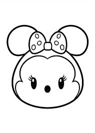 Tsum Tsum Para Colorear Pintar E Imprimir Top Coloring Pages