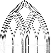 10 vintage stained glass church window