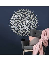 Mandala Stencils Reusable Mandala Stencil Designs For Walls Floors And Furniture