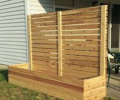 How To Build Multi Use Raised Bed Planters With Privacy Panels 10 Steps With Pictures Instructables