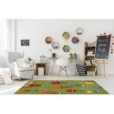 Shop Green Colorfull Cute Area Rug Carpet Mat Baloons Parachute Animals Cartoon Kids Girl Room Nursery 4x5 5x7 7x9 8x10 Overstock 29352630