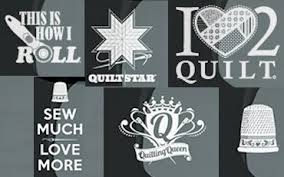 Creative Vinyl Die Cut Passion Decal Quilting Queen Shoppers Rule