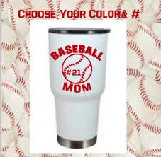 Monogram Vinyl Decal Baseball For Tumblers Cups Sticker Sports Baseball Mom Ebay