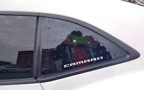 2016 2020 6th Gen Camaro V6 V8 Aluminum Quarter Window Side Panels Camaros Of Michigan