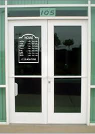 Custom Business Store Hours Vinyl Window Decal 11 5x15 Sticker Sign Glass Door Ebay