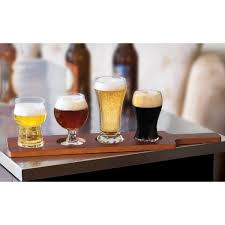 libbey craft brews beer tasting glasses