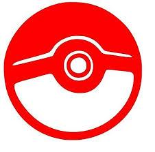 Pokemon Pokeball Anime Window Car Decal Sticker Pokemon Go Jdm Vinyl Decal 3 00 Picclick