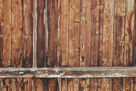 Removing And Disposing Of Old Wooden Fencing Straight Line Fence