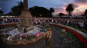 Anzac Day services ...