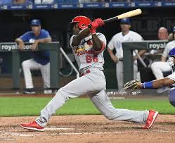 St. Louis Cardinals rookie center fielder Randy Arozarena gets his... News  Photo ...