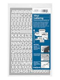 Lettersnumbers Vinyl 12 Wd Office Depot