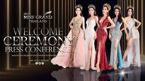 Welcome Ceremony and Press Conference MissGrandThailand 2020