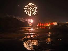 bonfire night fireworks displays