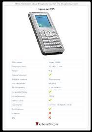 Sagem my400X Sagem SG 346i To your site ...