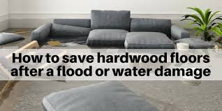 hardwood floors from water damage