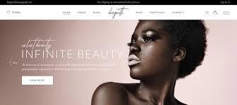 wordpress themes for makeup artists