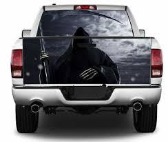 Grim Reaper Wrap Rear Window Tailgate Graphics Decal Kit 014 Ebay