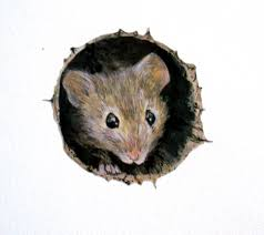Mouse Hole Wall Sticker Mouse Hole Mouse Decal Mouse Hole Etsy