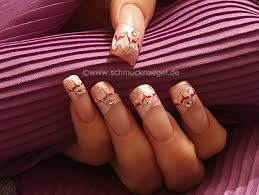 pink french motif with spot swirl