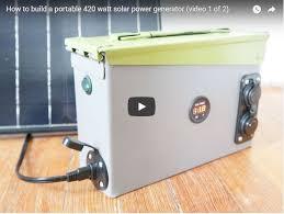 12 diy solar generators you can build