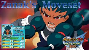 Zanark's Moveset In Inazuma Eleven Go Strikers 2013 by Aesty