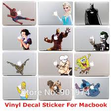 10pcs Stitch Batman Homer Vinyl Decal Protective Laptop Sticker For Apple Macbook Air Pro Humor Skin Art Protector Sticker Wall Stickers Relieflaptop Palm Rest Sticker Aliexpress