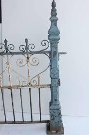 Custom Made Antique Cast Iron Fence 1stdibs Com Cast Iron Fence Wrought Iron Design Wrought Iron Fences