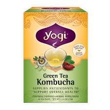 yogi teas green tea kombucha 16 bag