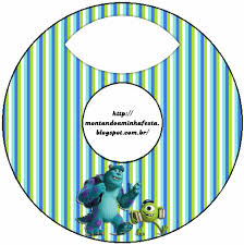 Invitaciones E Imprimibles De Monsters University Para Imprimir
