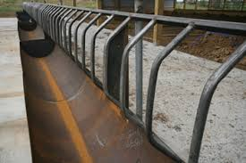 Rolled Steel Feed Bunks Fenceline Feed Bunks Portable Feed Bunks