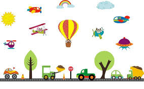 Air Plane Wall Decals Nursery Wall Decals Kids Room Etsy