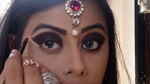 red hot smokey eye makeup tutorial