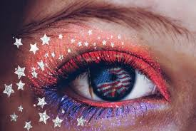 this 4th of july makeup tutorial will