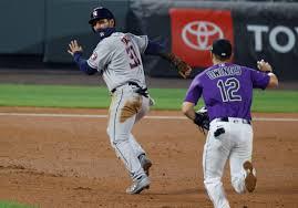 Kyle Tucker homers, triples twice; Astros thump Rockies