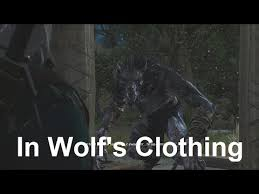 find morkvarg and get rid of the werolf