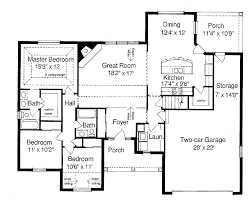 ideas for small ranch style floor plans