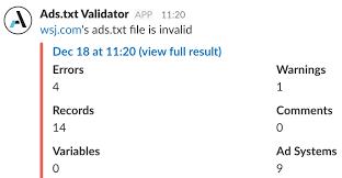 ads txt pro ads txt validator