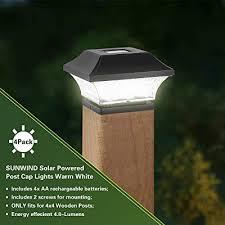Solar Lights For Decking Post Caps Uk
