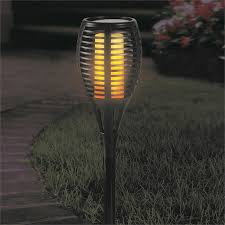 Lytworx Solar Tiki Torch With Flameless Led Candle Bunnings Warehouse