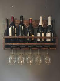 wooden wine rack bottle rack wine glass