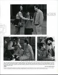1996 Press Photo Fran Drescher Adam Zolotin Robin Williams Bill ...