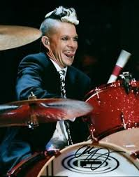 No Doubt Adrian Young Drummer Signed 8x10 Concert Photo COA Look ...