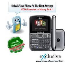LG C299 Unlocking - SIM network unlock pin
