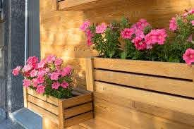 45 Beautiful Fence Planters Decorate Your Garden Fence Designing Idea